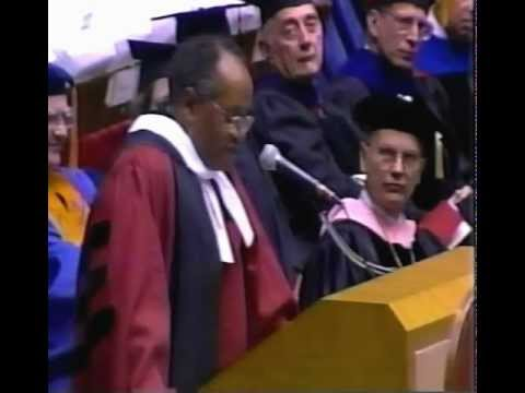 Peter Gomes May 10, 1997 University of Nebraska - Lincoln Commencement address.