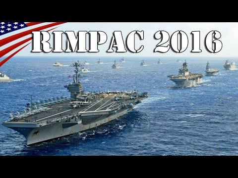 RIMPAC 2016 : 40 Warships & Submarines in Close Formation -