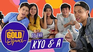 THE GOLD SQUAD TEENS DO THE KYO AND A | Gold Squad Andrea, Seth, Francine and Kyle