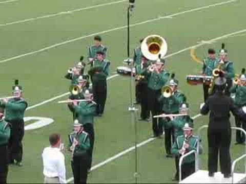 Notre Dame High School Marching Band Competition