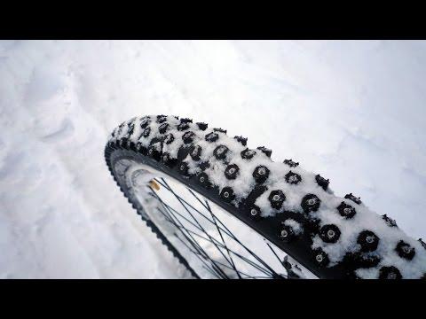 Вибір зимової гуми для велосипеда