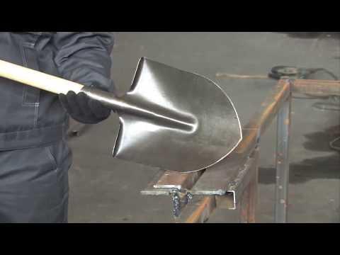 Лопаты из рельсовой стали ГОСТ Р 51685-2000. Тест на прочность и процесс производства