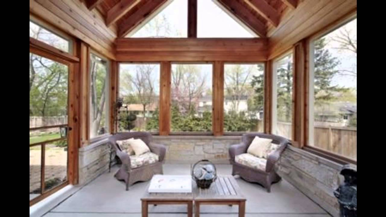 Simple mobile home addition ideas youtube for Log cabin sunroom additions