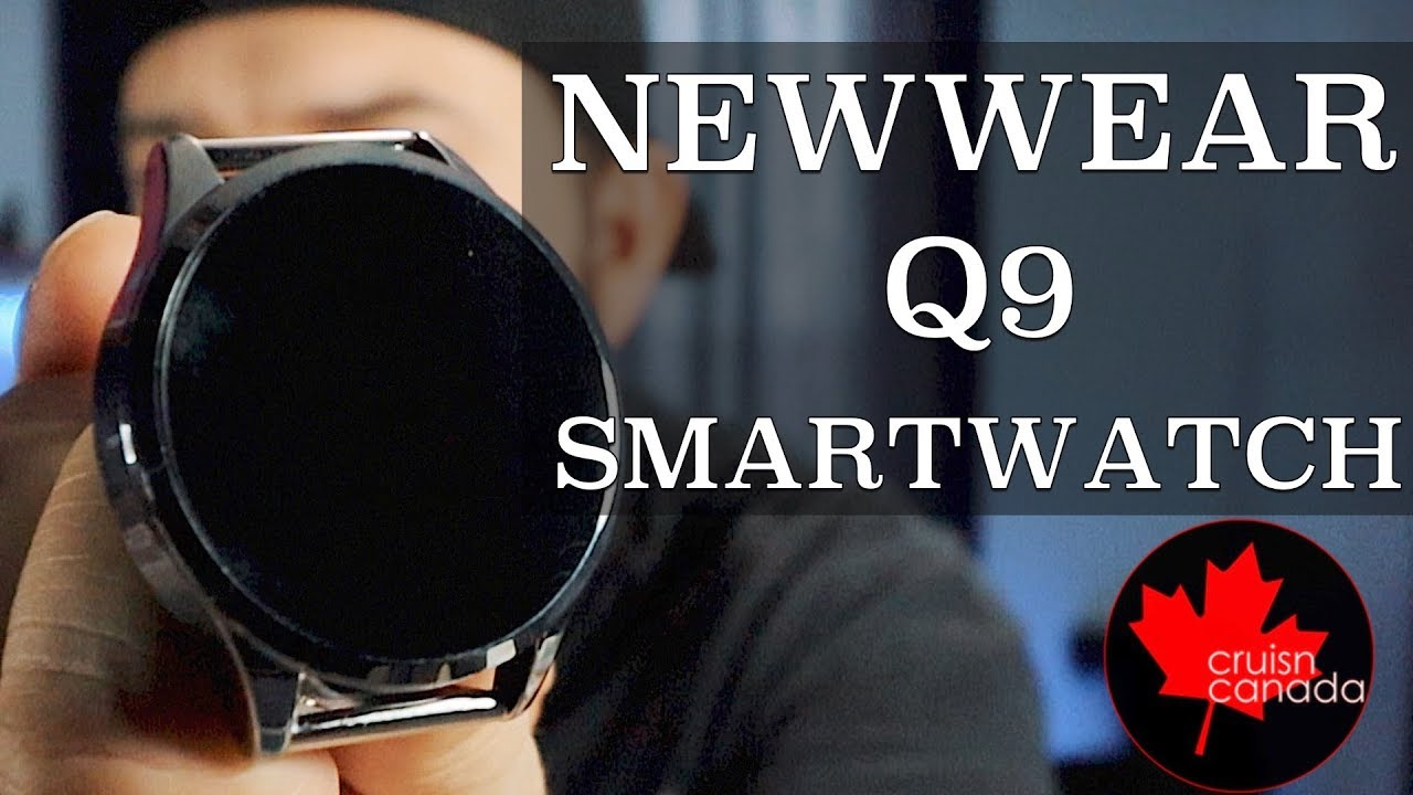 Newwear Q9 Smart Watch - Unboxing and First Look