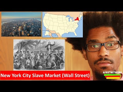 New York City Slave Market (Wall Street) - 1730