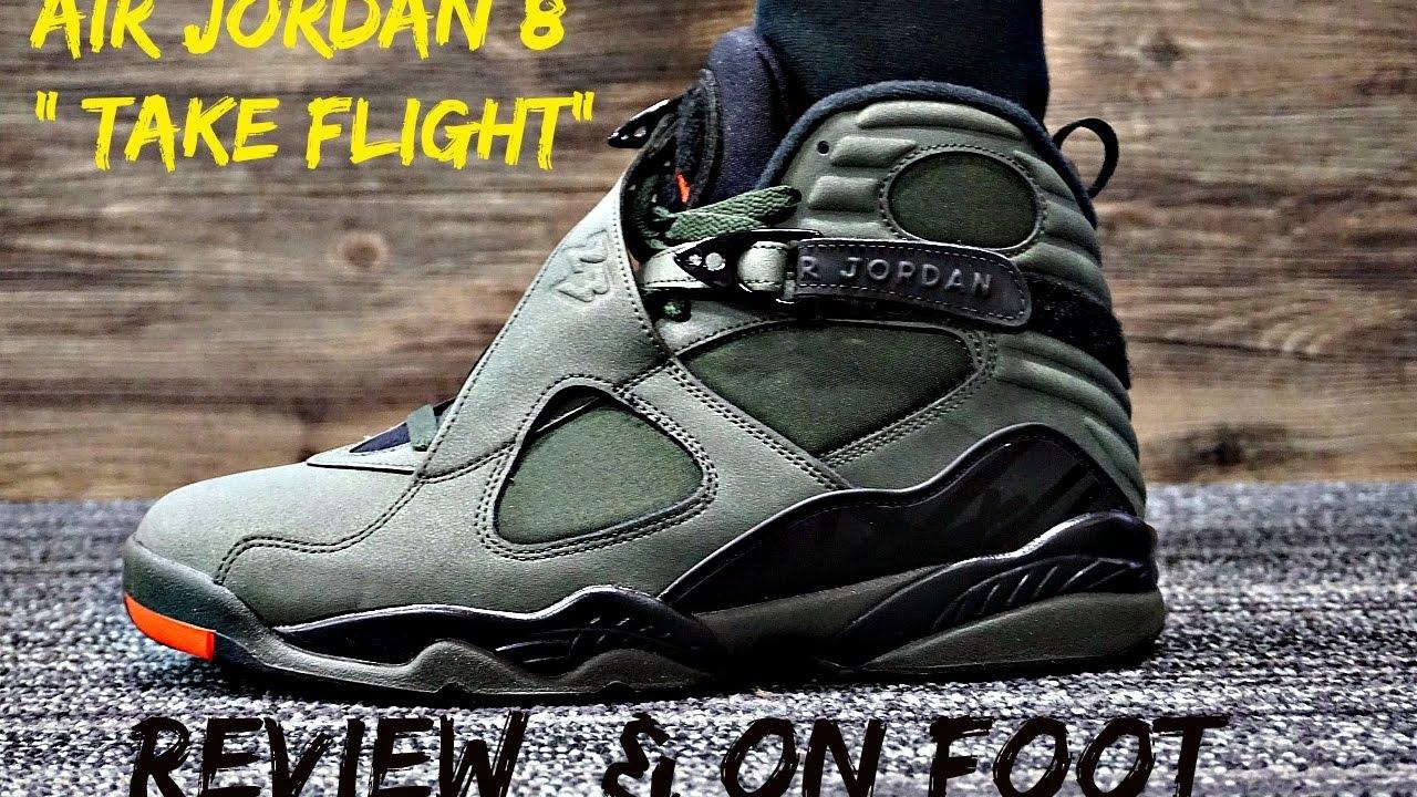 Air Jordan 8 Take Flight Review w On Foot