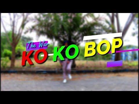 EXO - KOKOBOP (chorus, break dance part) PEMULA NIH!!!