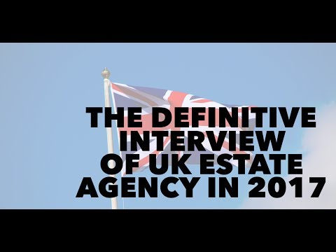 The UK Estate Agency Interview of 2017 with Stephen Brown - Cheap fees and Lack of Stock