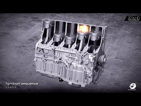 2017 AUDI 2.5 TFSI inline five-cylinder engine | HOW WORKS HOW + IT'S MADE