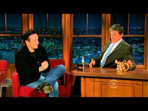Late Late Show with Craig Ferguson 3/22/2010 John Cusack, Lana Parrilla