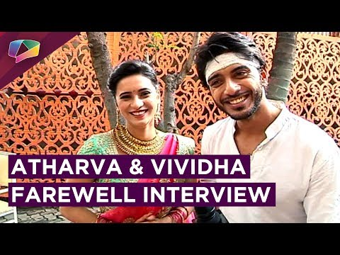 Atharva And Vividha Bid A Good Bye | Exclusive Interview | Jana Na Dil Se Door | Star Plus