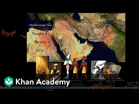 Ancient Egypt | Early Civilizations | World History | Khan A