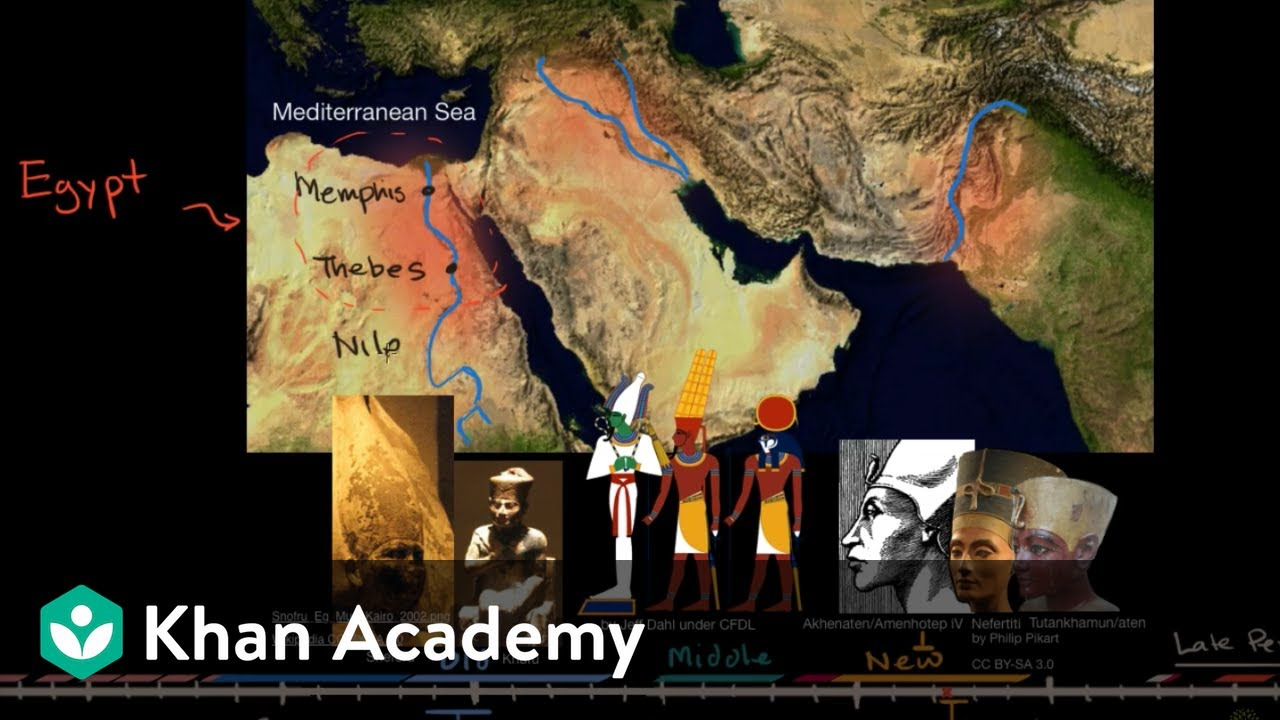 Ancient Egypt and the Nile River Valley (video)   Khan Academy [ 720 x 1280 Pixel ]