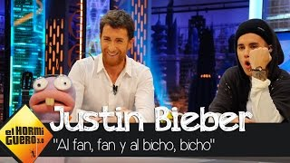 """Justin juega a """"Al fan, fan y al bicho, bicho"""", con Trancas y Barrancas - El Hormiguero 3.0"""