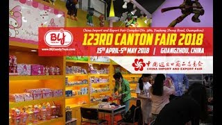 BLJ Candy Toys Canton Fair Made in China