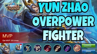 Yun Zhao Gameplay + Build - Mobile Legend #1