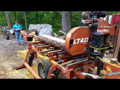 Wireless WoodMizer LT-40, DIY