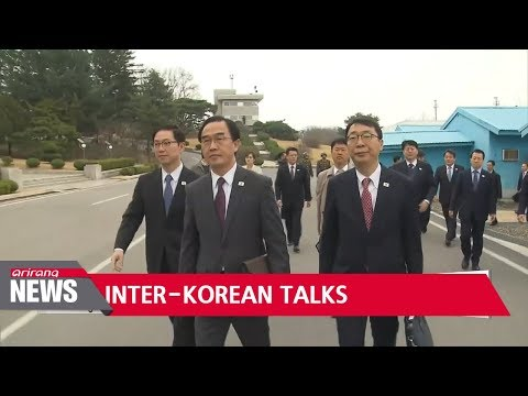 Inter-Korean high-level talks begin at truce village of Panmunjeom