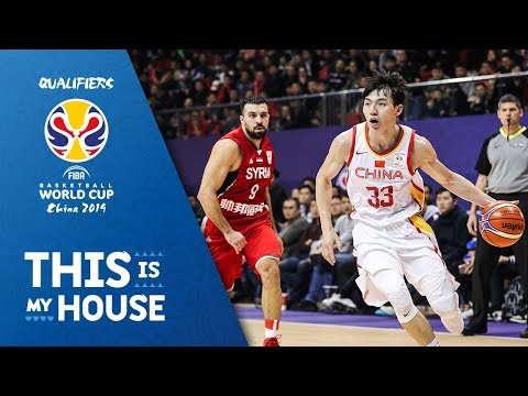China v Syria - Full Game - FIBA Basketball World Cup 2019 - Asian Qualifiers