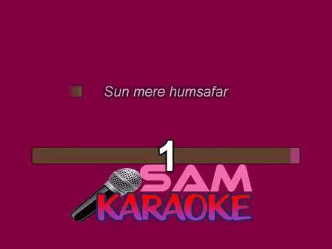 HUMSAFAR KARAOKE-BADRINATH KI DULHANIYA  Sam karaoke