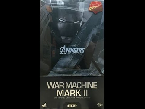 Hot toys Avengers Age of Ultron War Machine MK II Quick Review