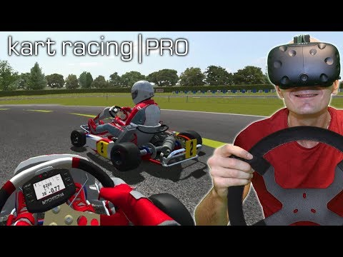 GO KART RACING SIMULATOR IN VIRTUAL REALITY | Kart Racing Pro VR HTC Vive Gameplay