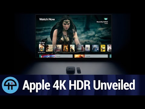 Apple Unveils Apple TV 4K with HDR (with Commentary)