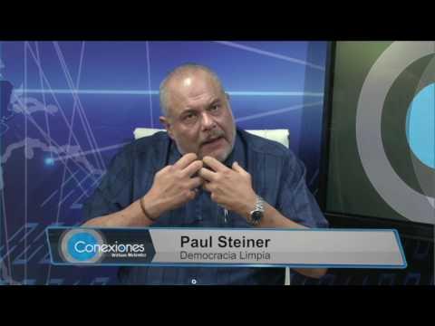 Paul Steiner y Eduardo Escobar en Conexiones con William Meléndez