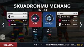 MC5 SB VS AMEDAMA ( NO 1 JP SQUAD )
