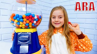 Ulya وسوبر ماركت للأطفال مع حلويات غير سارة