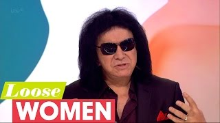 Gene Simmons Describes His Book For Life Education | Loose Women