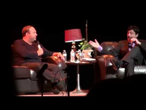 Alex Jones in Toronto 2015 George Noory Live