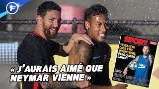 Lionel Messi dit sa vérité sur le dossier Neymar | Revue de presse