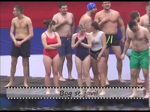 Slike i prilike - Plivanje za Časni krst u Šavranu 21.01.2020.
