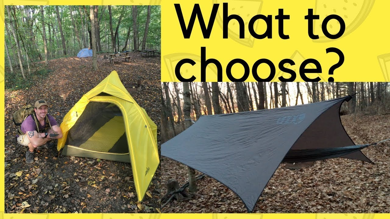 TENT Or HAMMOCK? 2018 AT Thru Hike
