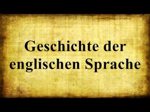 Geschichte Der Englischen Sprache