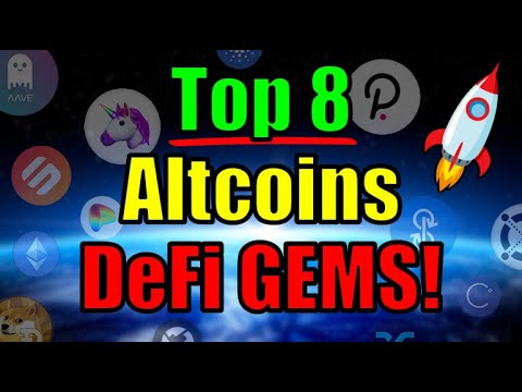 Top 8 DeFi Altcoins READY To EXPLODE! MASSIVE OPPORTUNITY Cryptocurrency Investors | Ethereum News