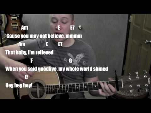 It's A Beautiful Day Buble- Guitar Lesson (Standard Chord Version) Micael Buble