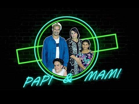 الحلقة الرابعة من السلسلة الكوميدية '' PAPI & MAMI '' 4 الهاتف  Dzair TV