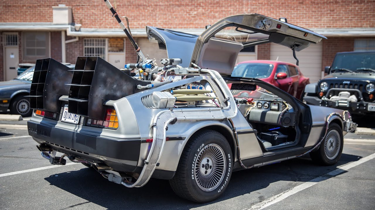 Back to the Future Delorean - memorabilia