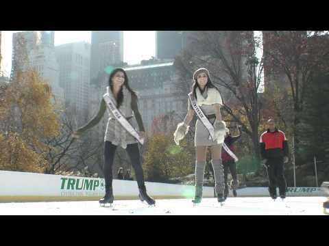 Miss Teen USA 2010 - Rangers And Skating
