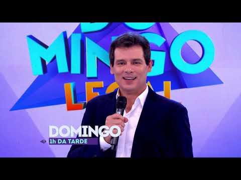 Domingo Legal  SBT Santa Catarina chamada