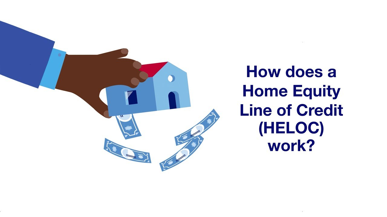 How does a Home Equity Line of Credit (or a HELOC) Work? - YouTube