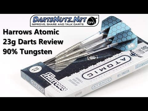 Harrows Atomic 23g darts review