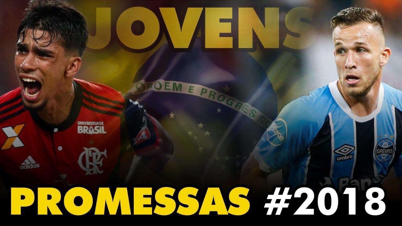 b2de68e758 5 PROMESSAS que podem despontar em 2018 (Futebol Brasileiro)