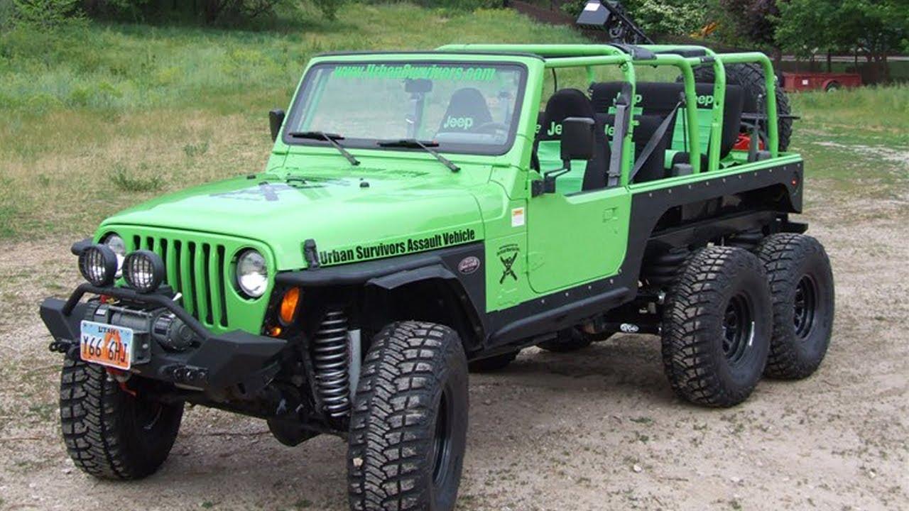 【Jeep Wrangler TJ 6x6 Off Road Truck Build Project 】►►►RESTORATION