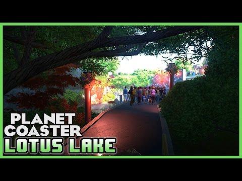 LOTUS LAKE! A Theme Park! Park Spotlight 45 #PlanetCoaster