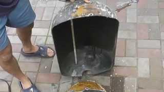 Вскрытие бойлера водонагревателя(Из чего состоит водонагреватель, разрезаем бойлер пополам Комментируйте данное видео, ставьте палец вверх..., 2014-07-06T14:06:50.000Z)
