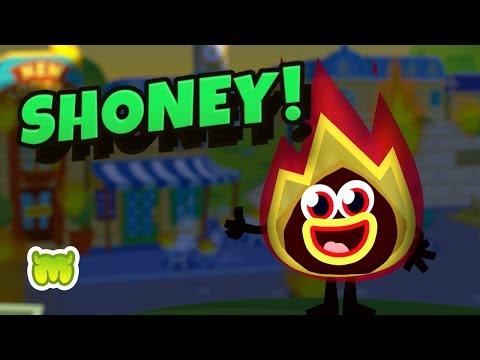 Moshi Monsters - Shoney the Amazin' Blazin' Raisin