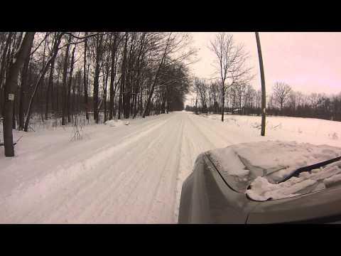 2008 ford escape snow